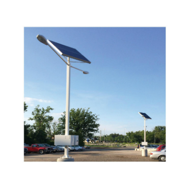 Dual Head Solar Street Lights